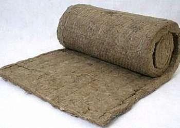 Lã de rocha para isolamento térmico