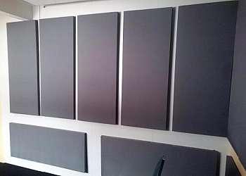 Placa acústica parede